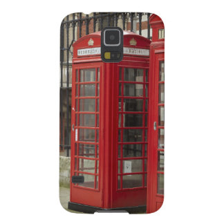 Row of phone boxes at the back of the Royal Galaxy S5 Case