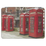 Row of phone boxes at the back of the Royal iPad Air Cover