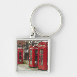 Row of phone boxes at the back of the Royal Keychain