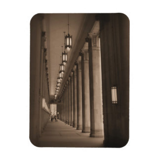 Row of Pillars - Civic Opera House - Chicago Magnet
