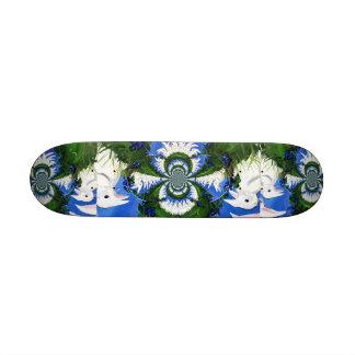 Row of Rabbits Skateboard
