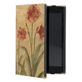 Row of Red Amaryllis iPad Mini Cover