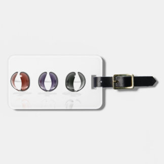 Row of Spheres Luggage Tags