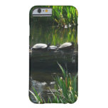Row of Turtles Green Nature Photo Barely There iPhone 6 Case