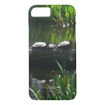 Row of Turtles Green Nature Photo iPhone 7 Case