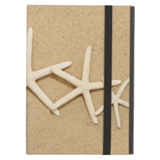 Row of White Starfish Case For iPad Air