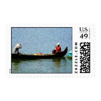 'Row' Postage