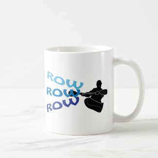 Row, Row, Row Classic White Coffee Mug