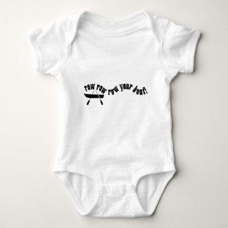 Row Row Row Your Boat! Baby Bodysuit