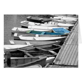 Row, Row, Row Your Boat Card