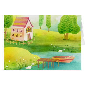 row row your boat card
