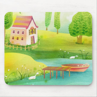 row row your boat mouse pad