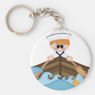 Row,row your boat-sailor keychain