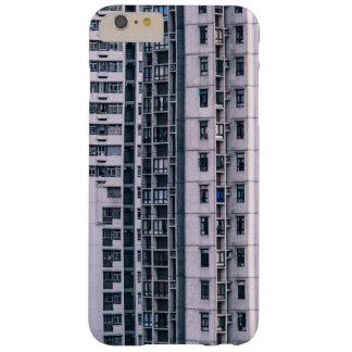 Row Themed, Hundreds Of Apartments In A Skyscraper Barely There iPhone 6 Plus Case