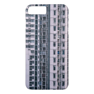 Row Themed, Hundreds Of Apartments In A Skyscraper iPhone 8 Plus/7 Plus Case