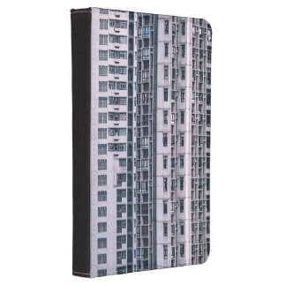 Row Themed, Hundreds Of Apartments In A Skyscraper Kindle Touch Case