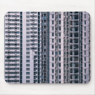 Row Themed, Hundreds Of Apartments In A Skyscraper Mouse Pad