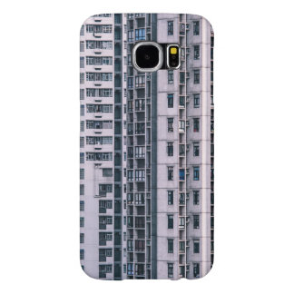 Row Themed, Hundreds Of Apartments In A Skyscraper Samsung Galaxy S6 Cases