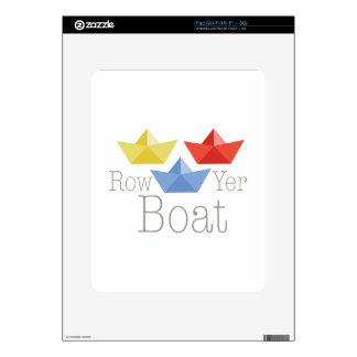 Row Yer Boat iPad Skin