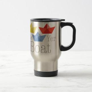 Row Yer Boat Travel Mug