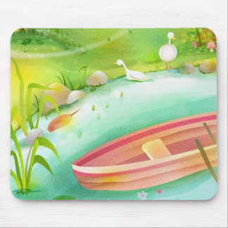 row your boat mouse pad