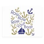 Row Your Postcard