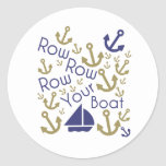 Row Your Sticker