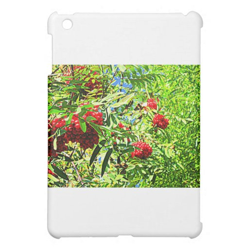 Rowan berries iPad mini case