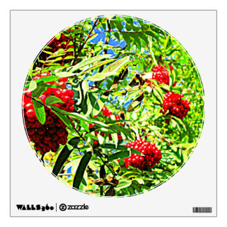 Rowan berries Wall Decal