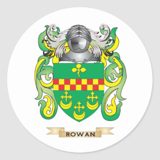 Rowan Coat of Arms Family Crest Sticker