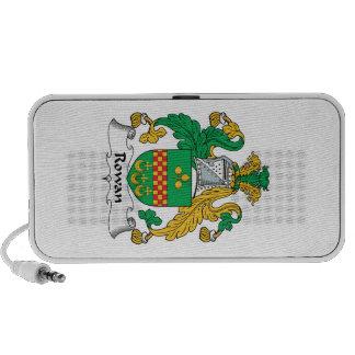 Rowan Family Crest iPod Speakers