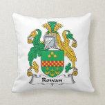 Rowan Family Crest Pillow