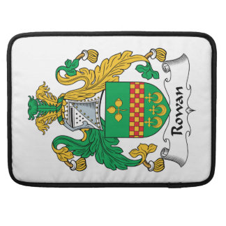 Rowan Family Crest Sleeves For MacBook Pro