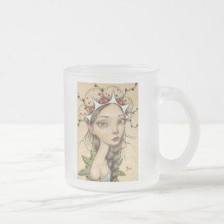 Rowan Frosted Glass Coffee Mug