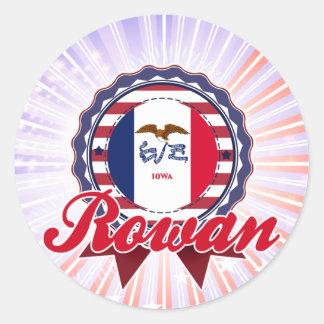 Rowan IA Stickers