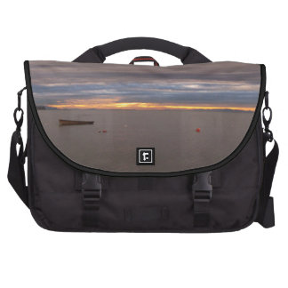 Rowboat At Sunset Laptop Computer Bag
