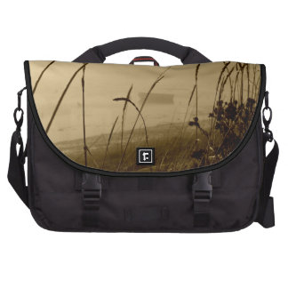 Rowboat In Fog Bags For Laptop