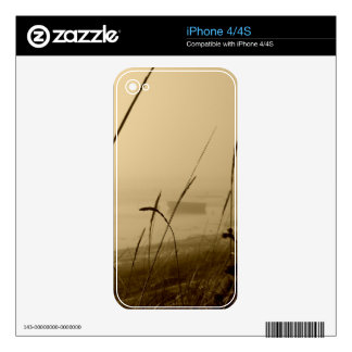 Rowboat In Fog Decal For iPhone 4S