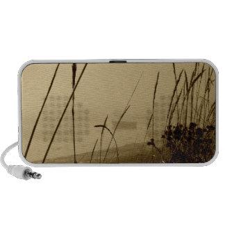 Rowboat In Fog Notebook Speaker