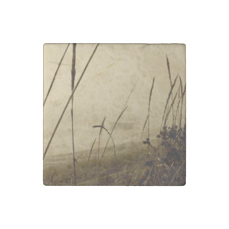 Rowboat In Fog Stone Magnet