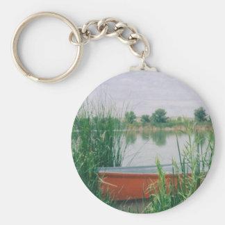 Rowboat Keychain