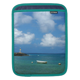 Rowboat on the Water iPad Sleeves