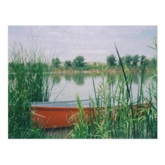 Rowboat Postcard