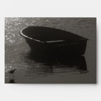Rowboat Under Cloud Envelope