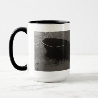 Rowboat Under Cloud Mug