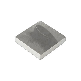 Rowboat Under Cloud Stone Magnet