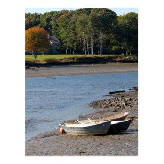 Rowboats 7319 postcard