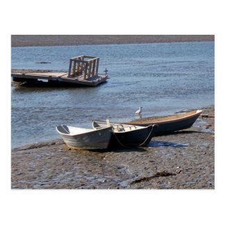 Rowboats 7320 postcard