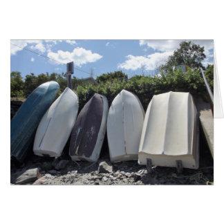 Rowboats at Rest Card