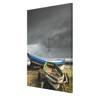 Rowboats On The Shore | England Canvas Print